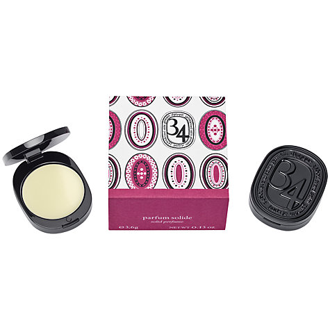 Buy Diptyque 34 Boulevard Saint Germaine Solid Perfume, 3.6g Online at johnlewis.com