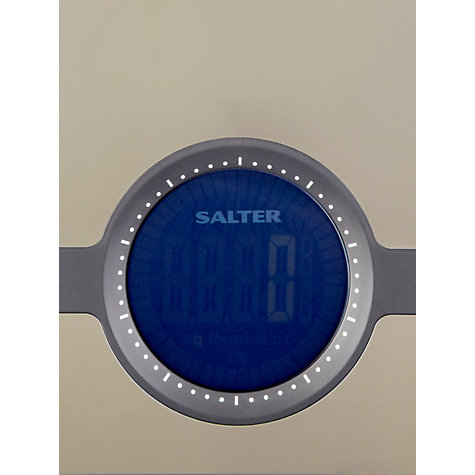 Buy Salter Geo Digital Kitchen Scale, 5kg Online at johnlewis.com