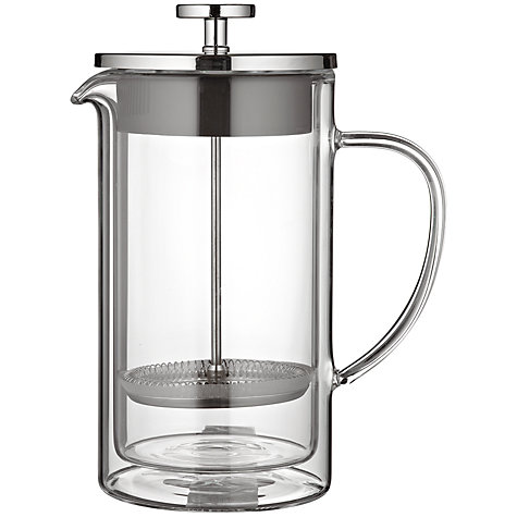 Buy John Lewis Double Wall Cafetiere Online at johnlewis.com