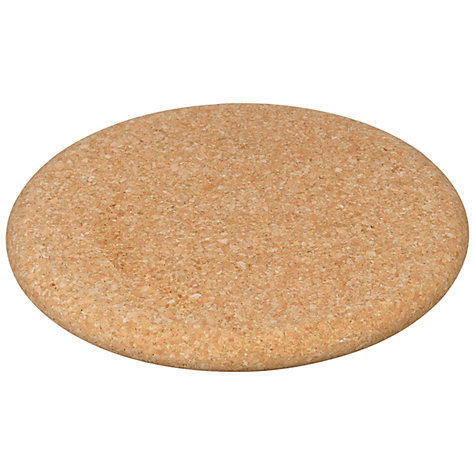 Buy John Lewis Round Trivet, Cork Online at johnlewis.com