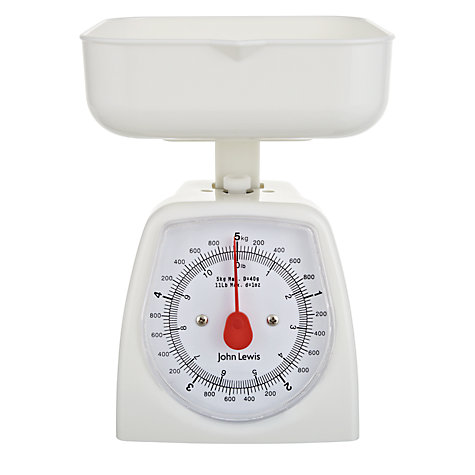 Buy John Lewis The Basics Mechanical Scales, 5kg Online at johnlewis.com