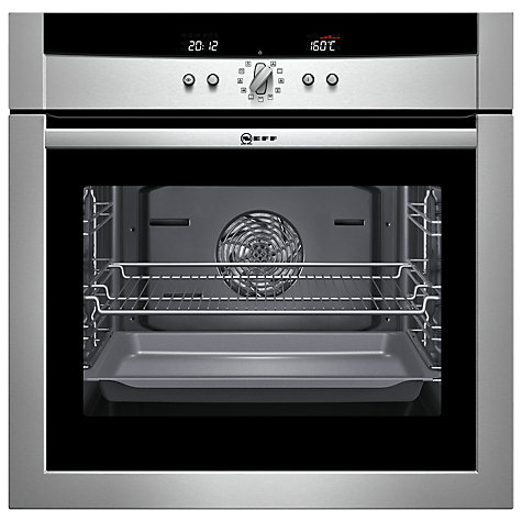Buy Neff B15P52N3GB Single Electric Oven, Stainless Steel Online at johnlewis.com
