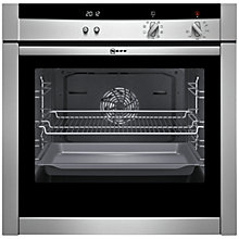 Buy Neff B45M52N3GB Slide and Hide Single Electric Oven, Stainless Steel Online at johnlewis.com