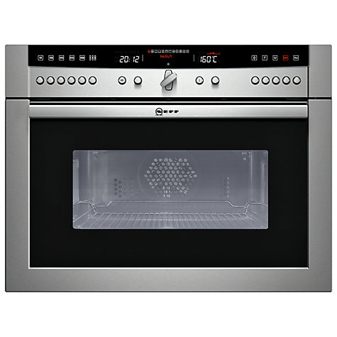 Buy Neff C67M70N3GB Built-in Combination Microwave, Stainless Steel Online at johnlewis.com