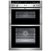 Buy Neff U16E74N3GB Double Built-In Electric Oven, Stainless Steel Online at johnlewis.com
