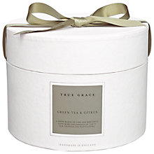 Buy True Grace Green Tea and Citrus Diffuser and Votive Gift Set Online at johnlewis.com