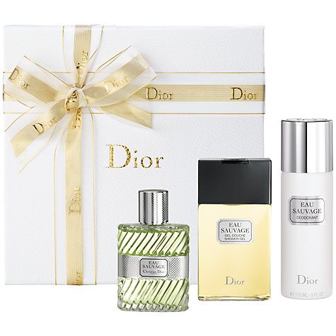 Buy Dior Eau Sauvage Classic Man Gift Set, 50ml Online at johnlewis.com