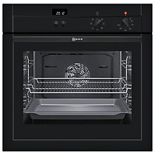 Buy Neff B14M42S3GB Single Electric Oven, Black Online at johnlewis.com