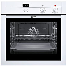 Buy Neff B14M42W3GB Single Electric Oven, White Online at johnlewis.com