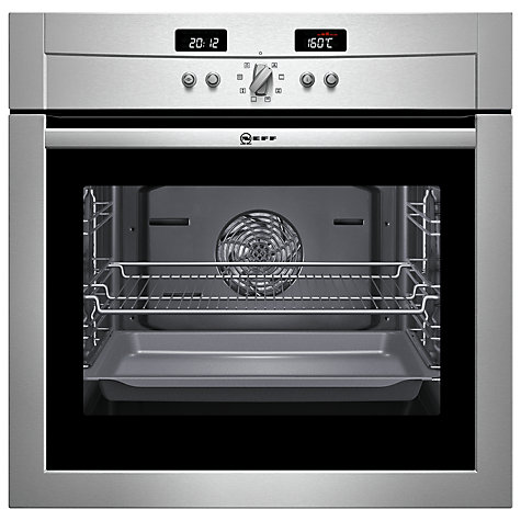 Buy Neff B14P42N3GB Single Electric Oven, Stainless Steel Online at johnlewis.com