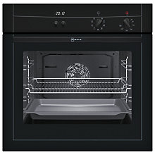 Buy Neff B15M52S3GB Single Electric Oven, Black Online at johnlewis.com