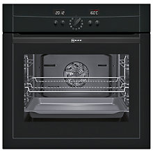 Buy Neff B15P52S3GB Single Electric Oven, Black Online at johnlewis.com
