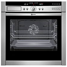 Buy Neff B45C52N3GB Slide and Hide Single Electric Oven, Stainless Steel Online at johnlewis.com