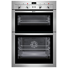 Buy Neff U14M42N3GB Double Electric Oven, Stainless Steel Online at johnlewis.com
