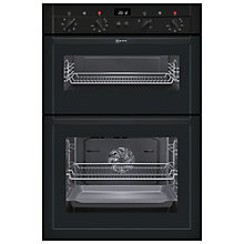 Buy Neff U14M42S3GB Double Electric Oven, Black Online at johnlewis.com