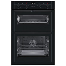 Buy Neff U15M52S3GB Double Electric Oven, Black Online at johnlewis.com