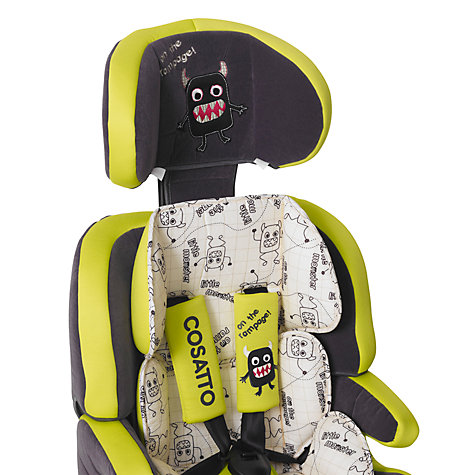 Buy Cosatto Zoomi Car Seat, Little Monster Online at johnlewis.com
