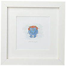 Buy Roger Hargreaves - Mr. Men, Little Miss Giggles Framed Print, 23 x 23cm Online at johnlewis.com