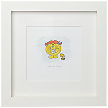 Buy Roger Hargreaves - Mr. Men, Little Miss Trouble Framed Print, 23 x 23cm Online at johnlewis.com
