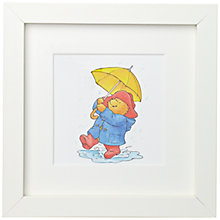 Buy Paddington Bear Brolly Framed Print, 23 x 23cm Online at johnlewis.com