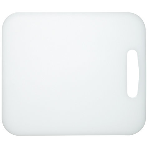 Buy John Lewis Polyethylene Chopping Board, Large Online at johnlewis.com