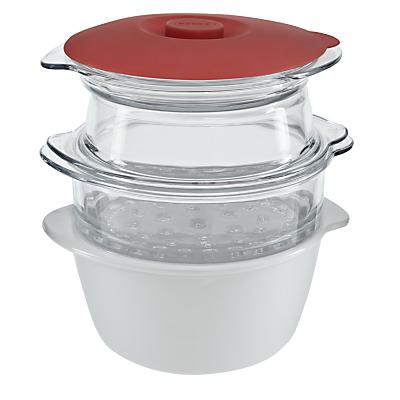 Pyrex 5 Piece Multi Cook Set, White