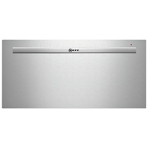 Buy Neff N22H40N3GB Built-In Warming Drawer, Stainless Steel Online at johnlewis.com