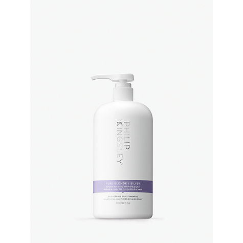 Buy Philip Kingsley Pure Silver Shampoo, 1000ml Online at johnlewis.com