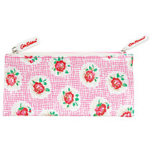 Buy Cath Kidston Lattice Rose Double Zip Purse Online at johnlewis.com