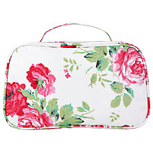 Buy Cath Kidston New Rose Bouquet Two Fold Washbag Online at johnlewis.com