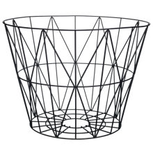 Buy ferm LIVING Wire Storage Basket, Large, Black Online at johnlewis.com