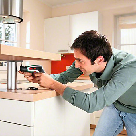 Buy Bosch IXO 3.6 Volt Cordless Screwdriver with Right-Angle Adapter Online at johnlewis.com
