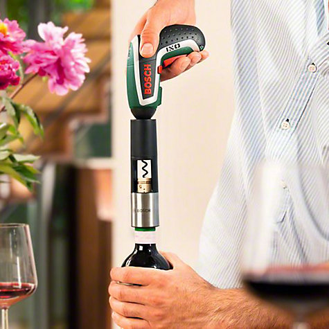 Buy Bosch IXO Gourmet 3.6 Volt Cordless Screwdriver with Corkscrew & Spice Mill Attachments Online at johnlewis.com
