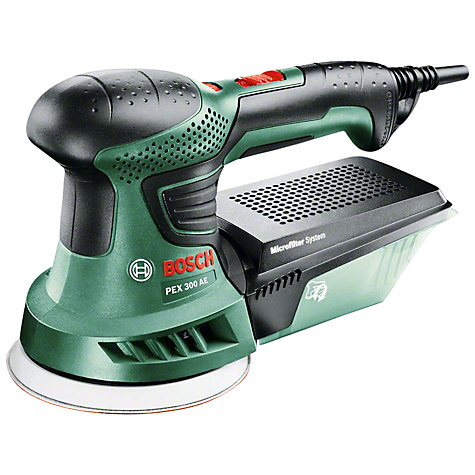 buy bosch pex 300 ae 270w orbital sander john lewis. Black Bedroom Furniture Sets. Home Design Ideas