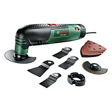 Buy Bosch PMF 190 E 190W Multifunctional Allrounder Set with 13 Accessories Online at johnlewis.com