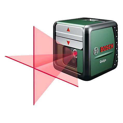 Buy Bosch Quigo Self Leveling Cross Line Laser Level Online at johnlewis.com