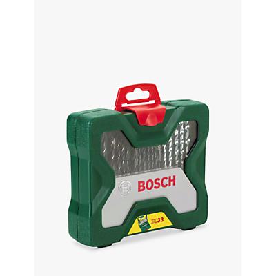 Bosch 33 Piece Drill and Screwdriver Bit Set