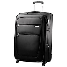 Buy Carlton Orchid Expandable 2-Wheel Suitcase, Black, Large Online at johnlewis.com