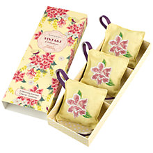 Buy Heathcote & Ivory Vintage Mimosa and Pomegranate Scented Drawer Cushions, Pack of 3 Online at johnlewis.com