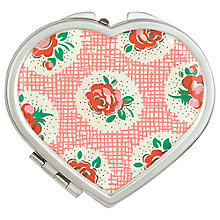 Buy Cath Kidston Lattice Rose Compact Mirror Online at johnlewis.com