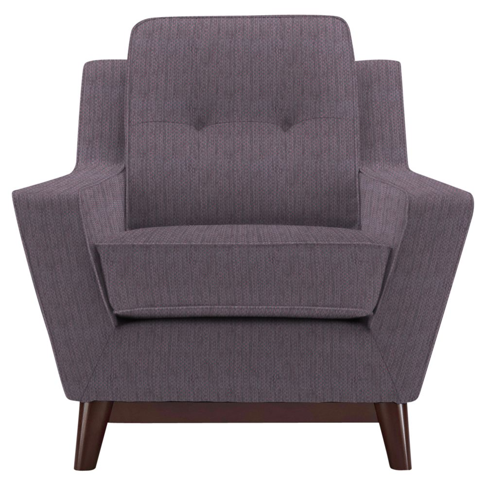 G Plan Vintage The Fifty Three Armchair, Weave Plum