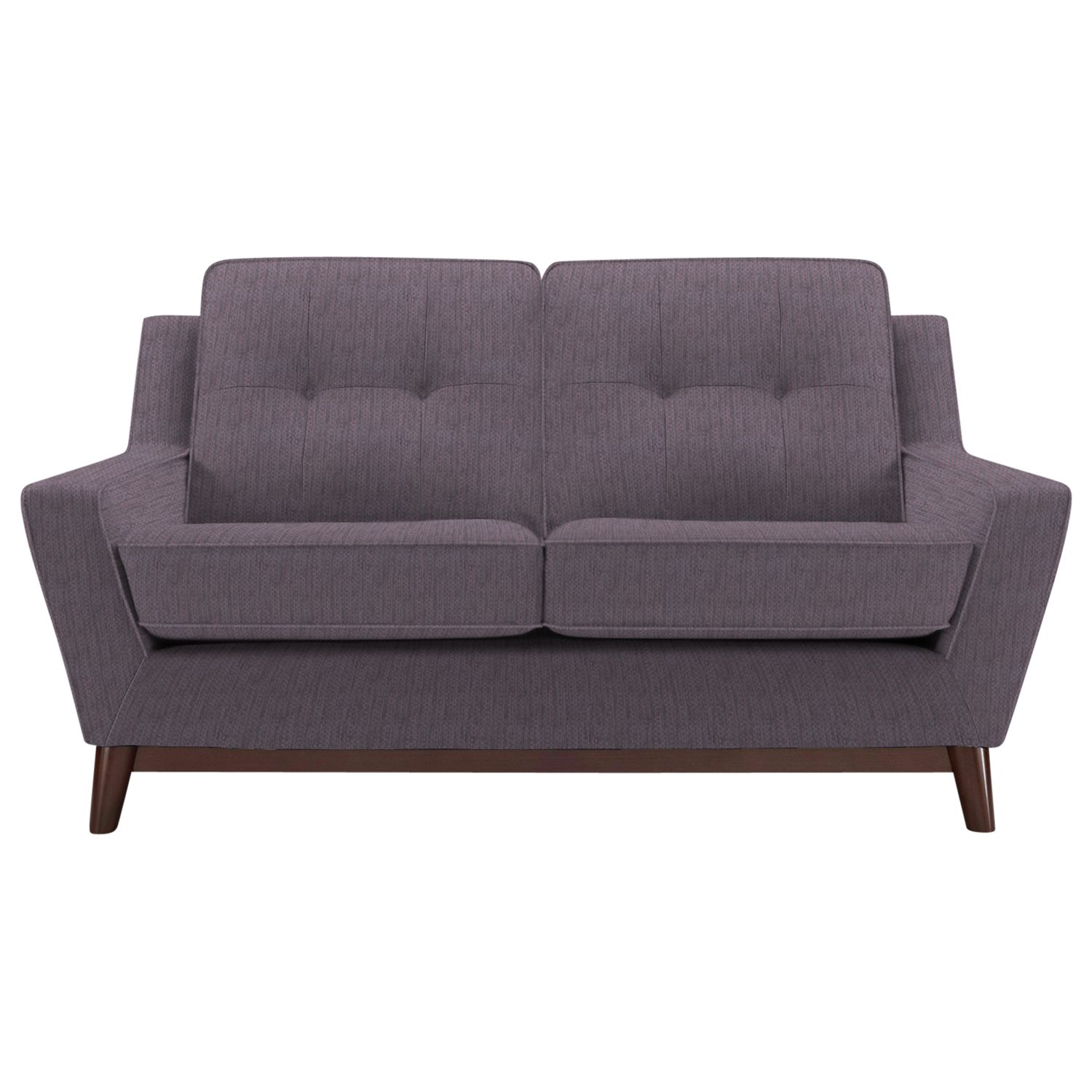 G Plan Vintage The Fifty Three Small Sofa, Weave Plum