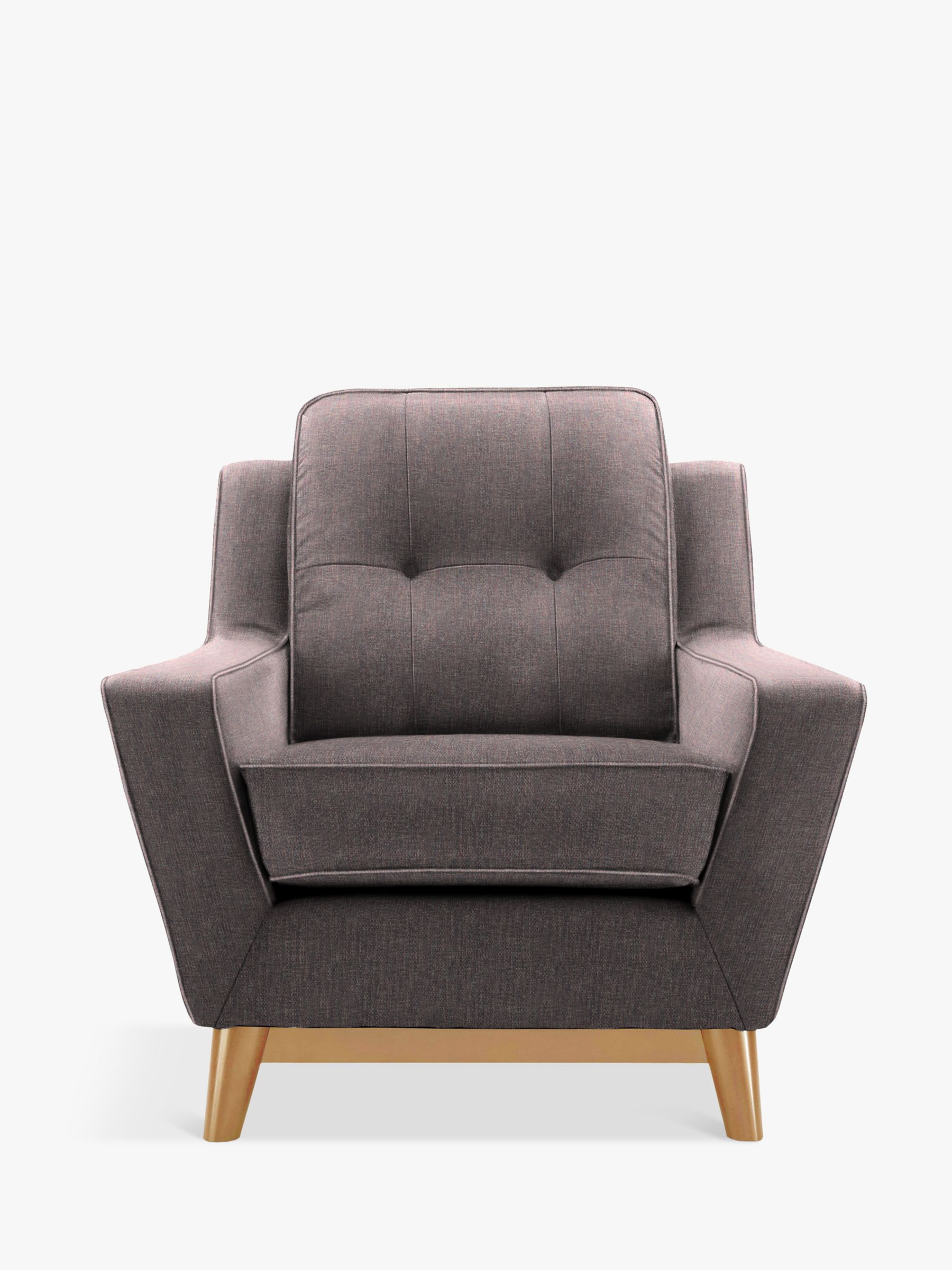 G Plan Vintage The Fifty Three Armchair, Marl Aubergine