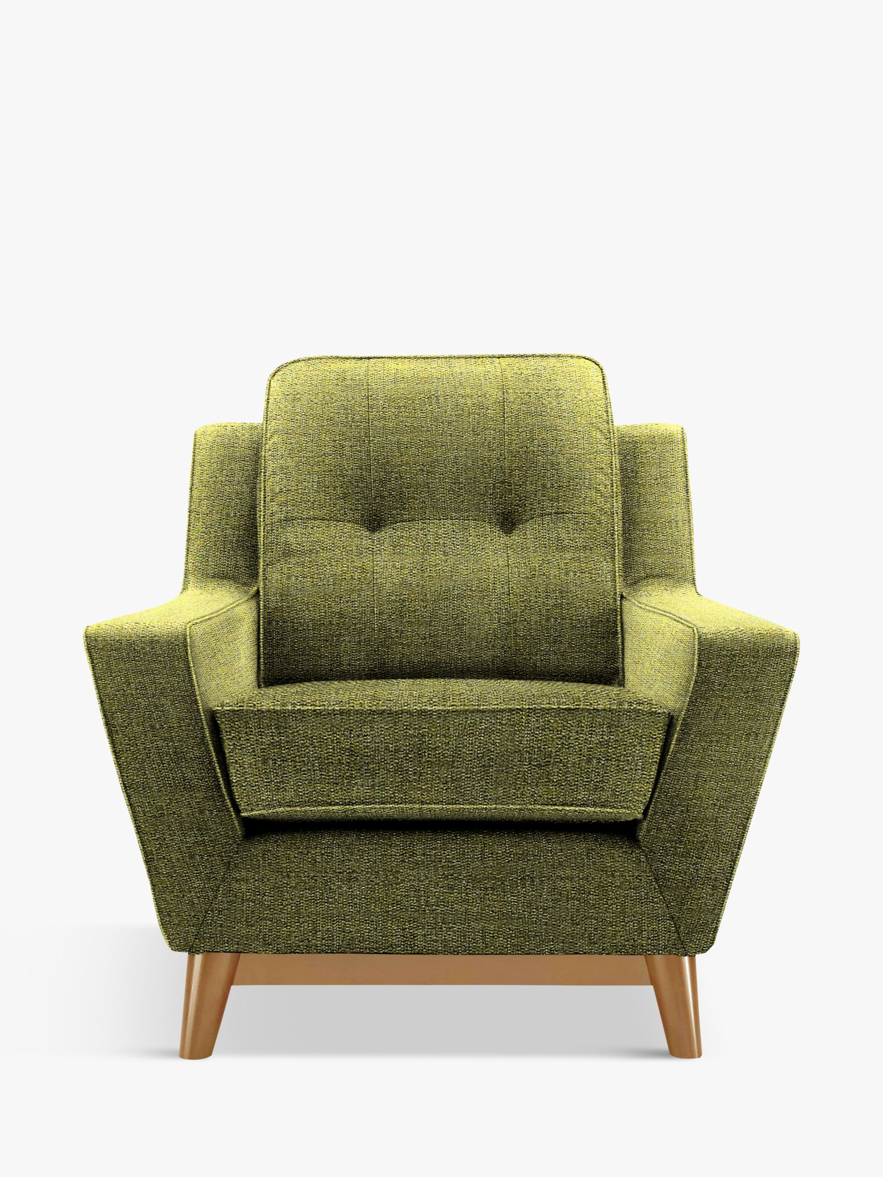 G Plan Vintage The Fifty Three Armchair, Marl Green