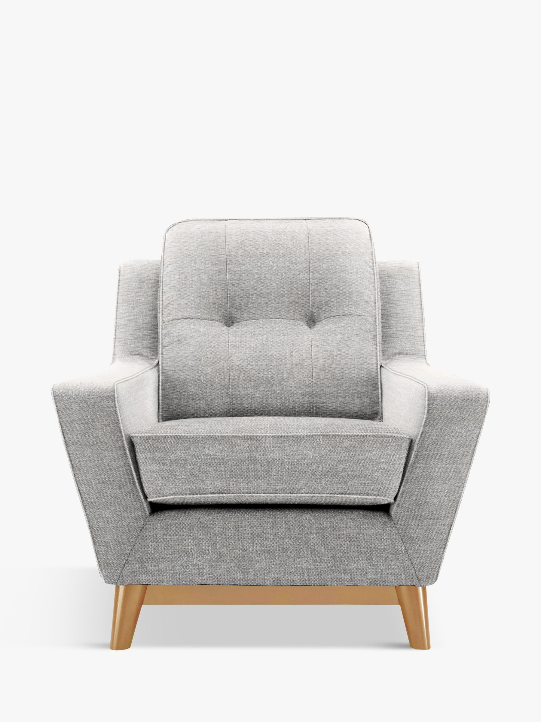 G Plan Vintage The Fifty Three Armchair, Marl Grey