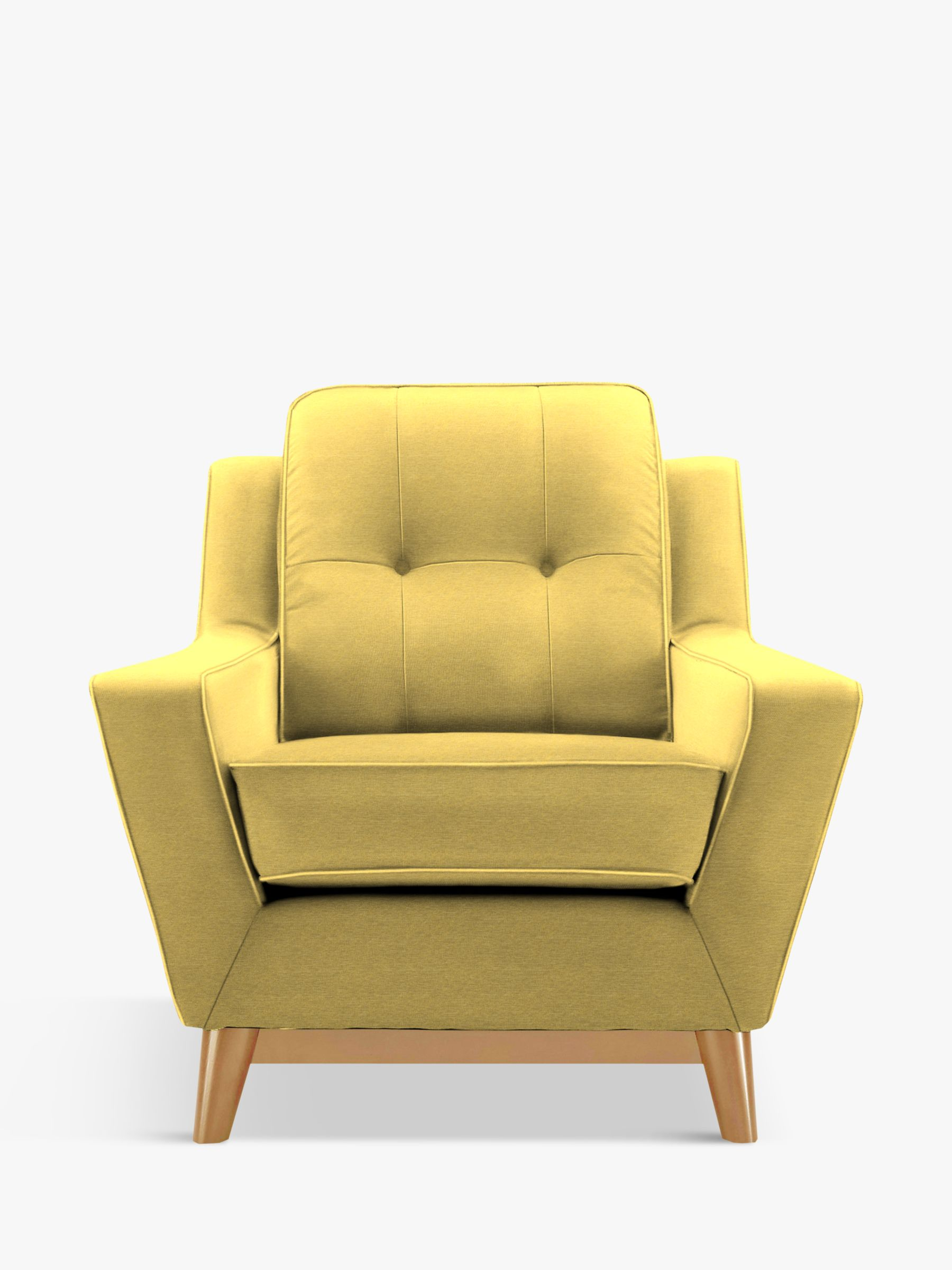 G Plan Vintage The Fifty Three Armchair, Tonic Mustard