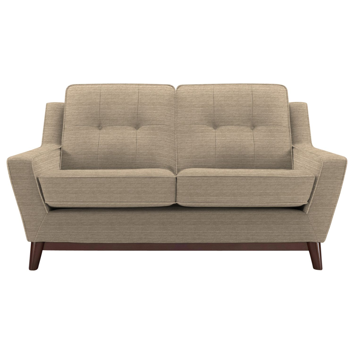 G Plan Vintage The Fifty Three Small Sofa, Streak Mushroom