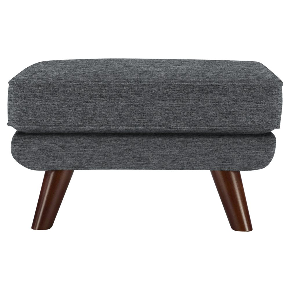 G Plan Vintage The Fifty Three Footstool, Fleck Pewter