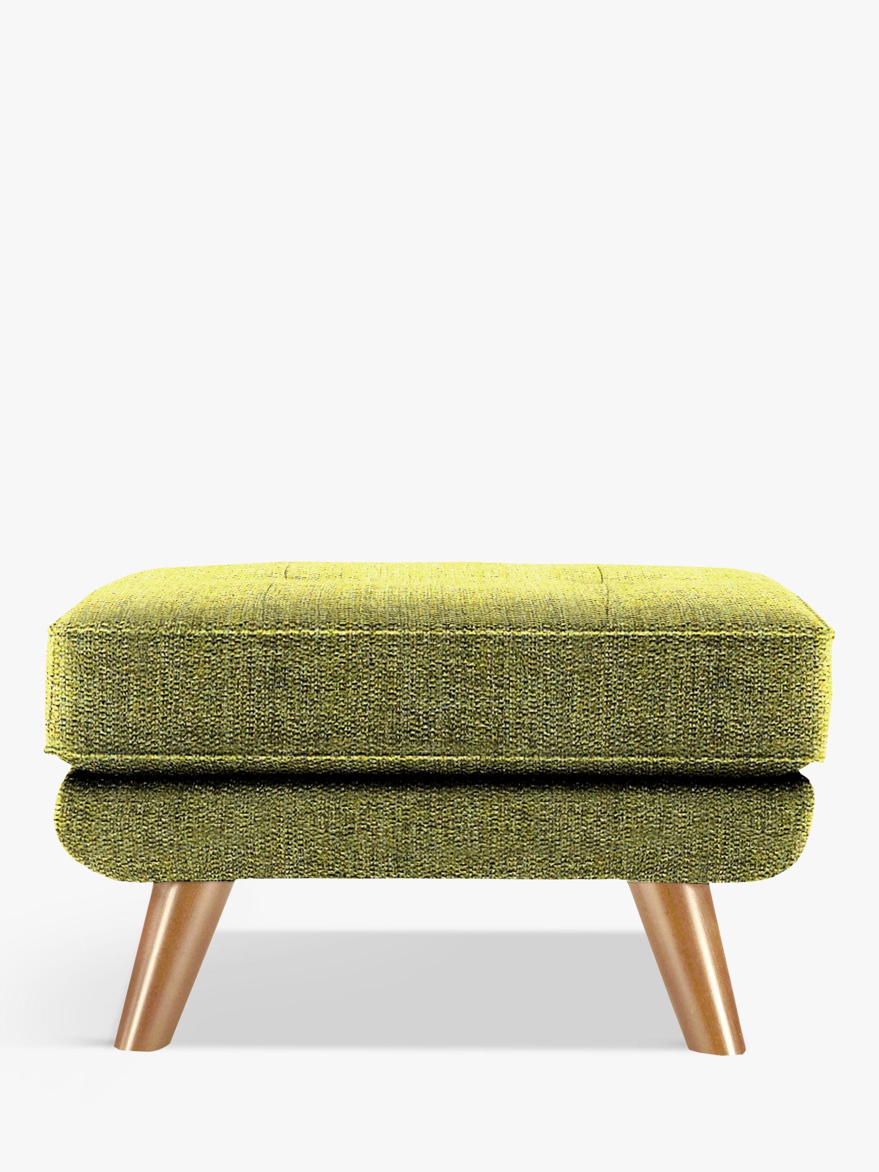 G Plan Vintage The Fifty Three Footstool, Marl Green