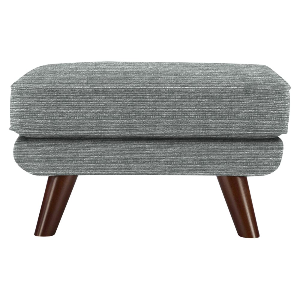 G Plan Vintage The Fifty Three Footstool, Streak Grey